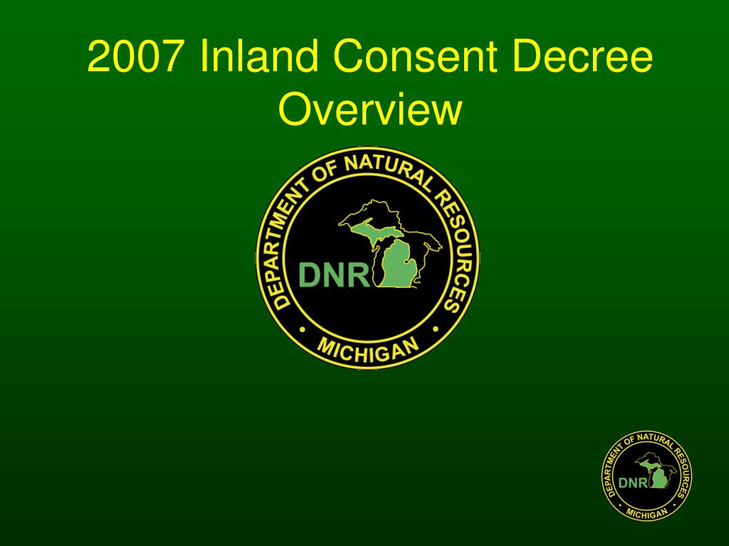 2007 inland consent decree overview l.