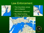law enforcement43