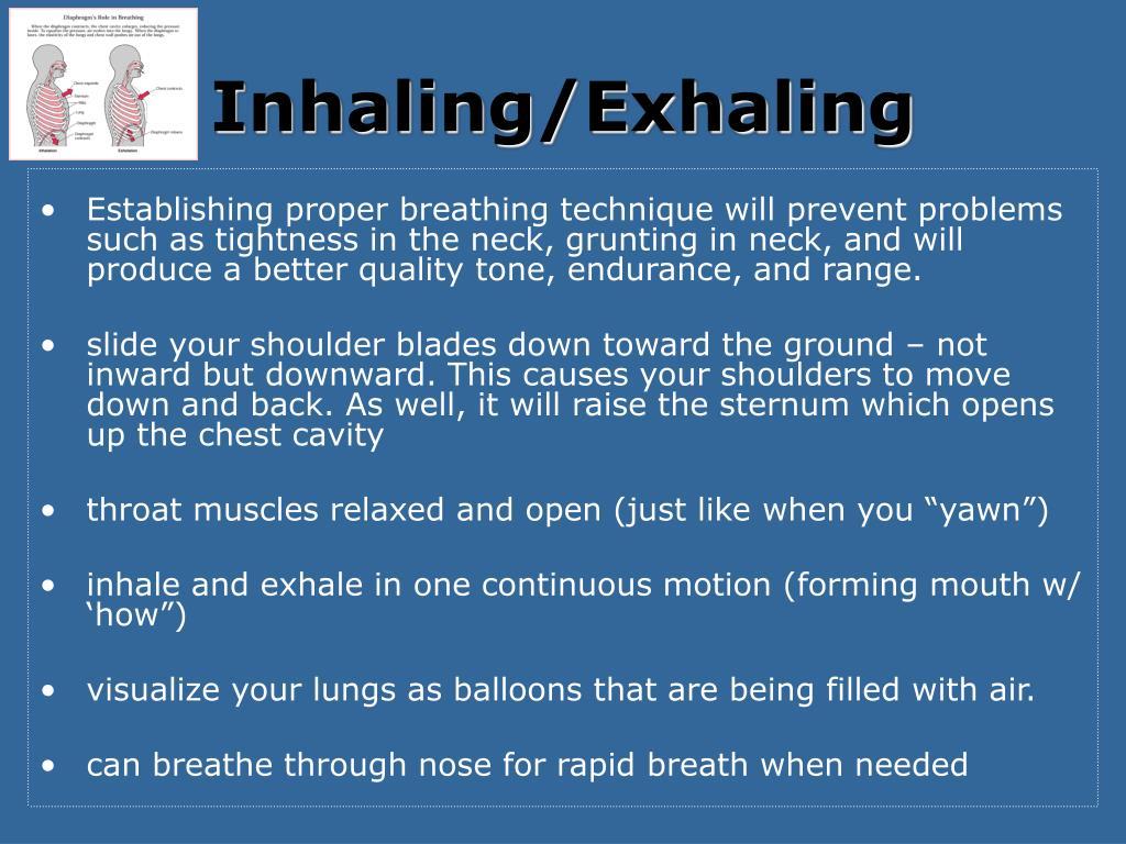 Inhaling/Exhaling