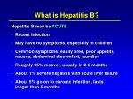 what is hepatitis b14