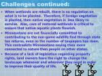 challenges continued5