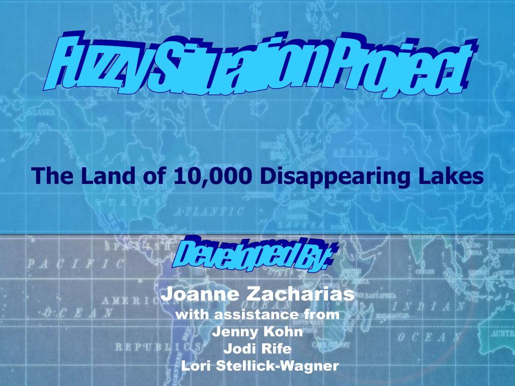 joanne zacharias with assistance from jenny kohn jodi rife lori stellick wagner