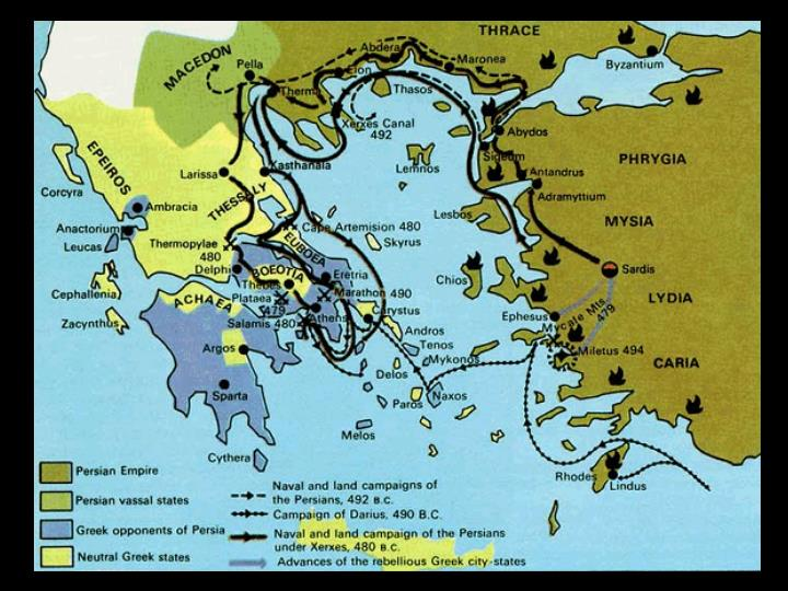 Led the second Persian invasion of Greece