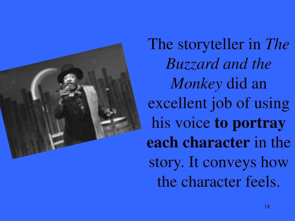 The storyteller in