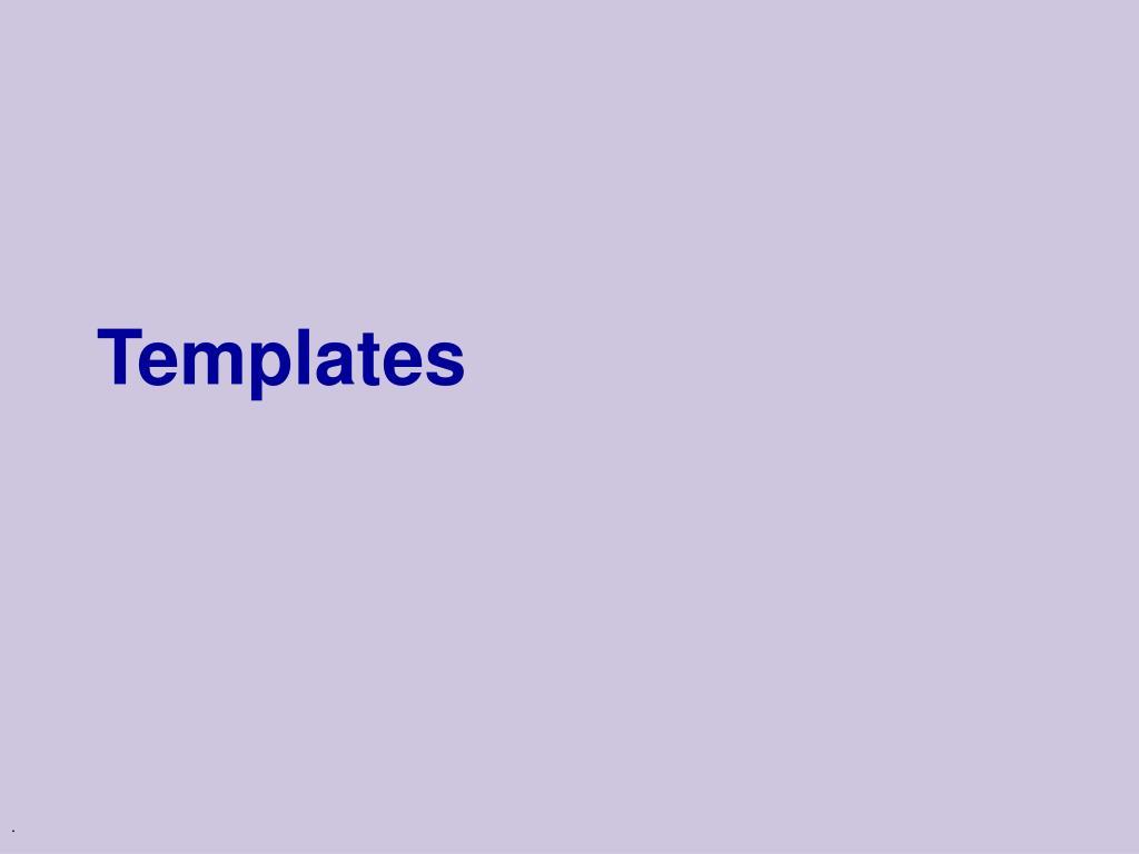 templates l.