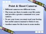 point shoot cameras