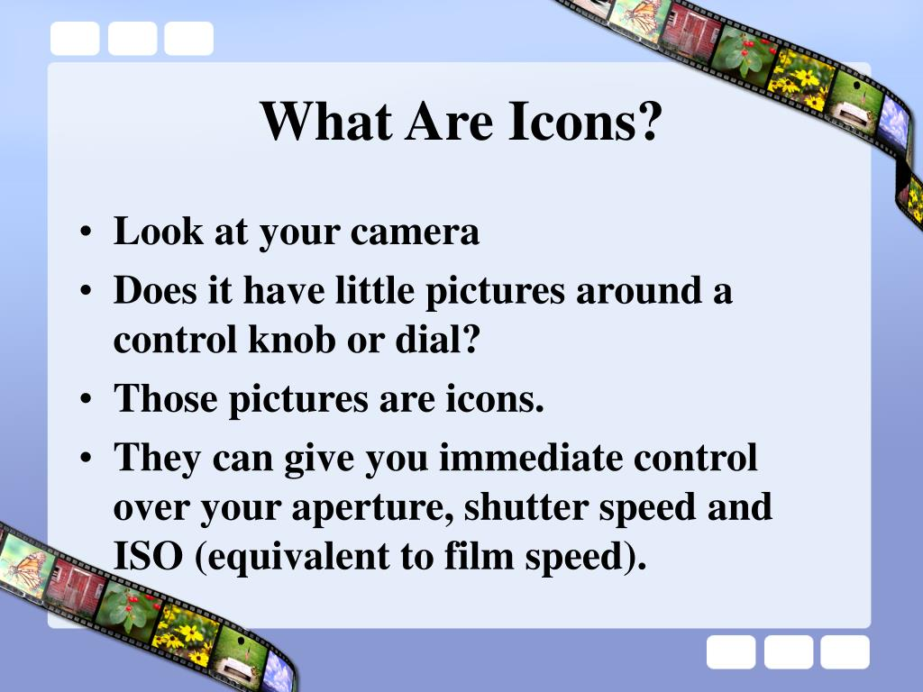 What Are Icons?