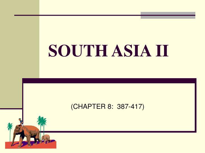south asia ii n.