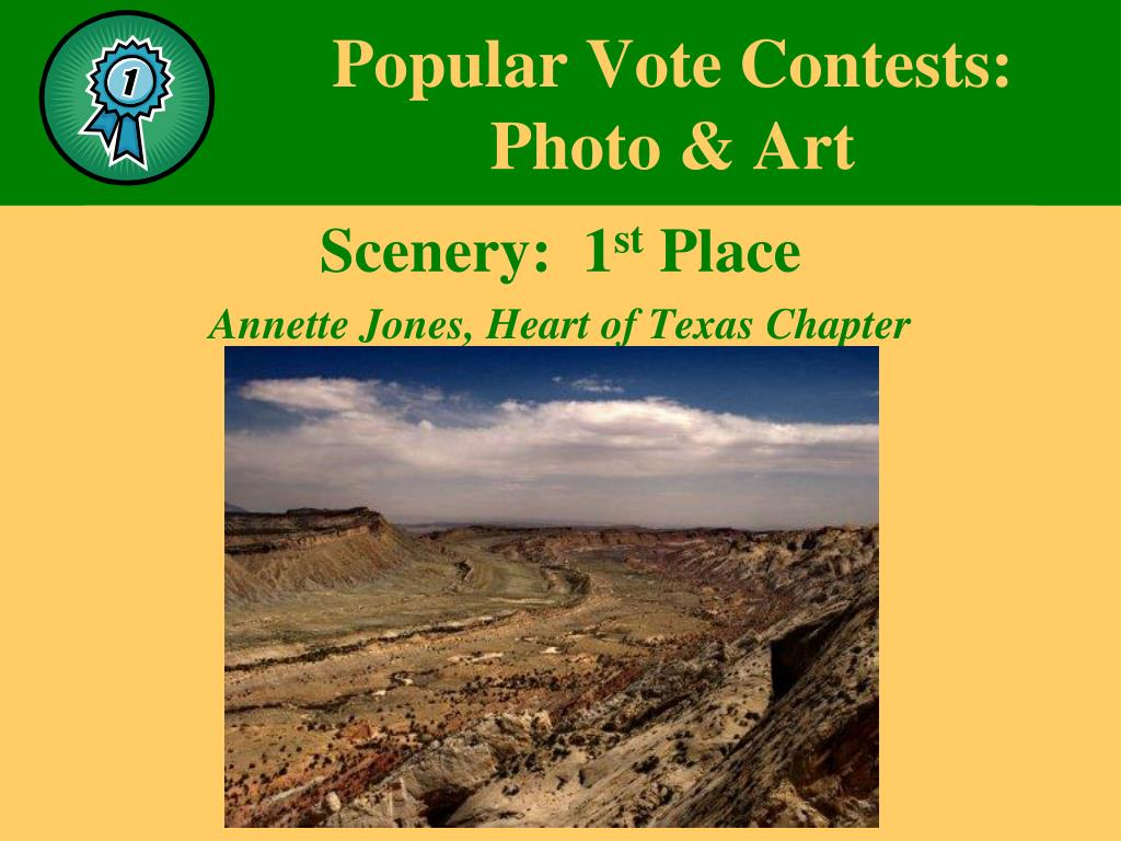 Popular Vote Contests: