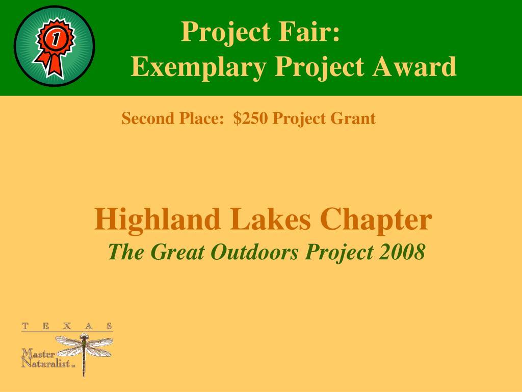 Project Fair:
