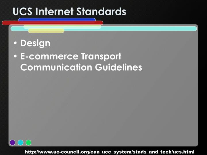 UCS Internet Standards