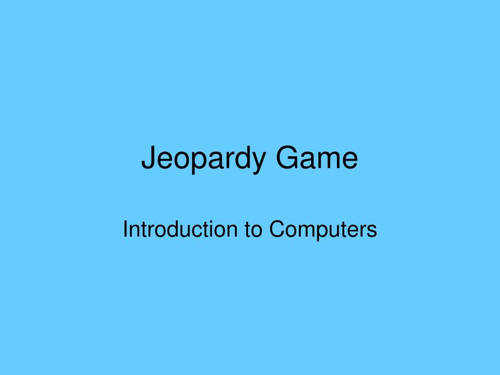 jeopardy game l.