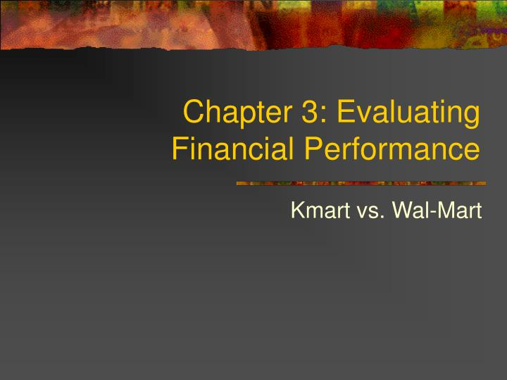chapter 3 evaluating financial performance n.