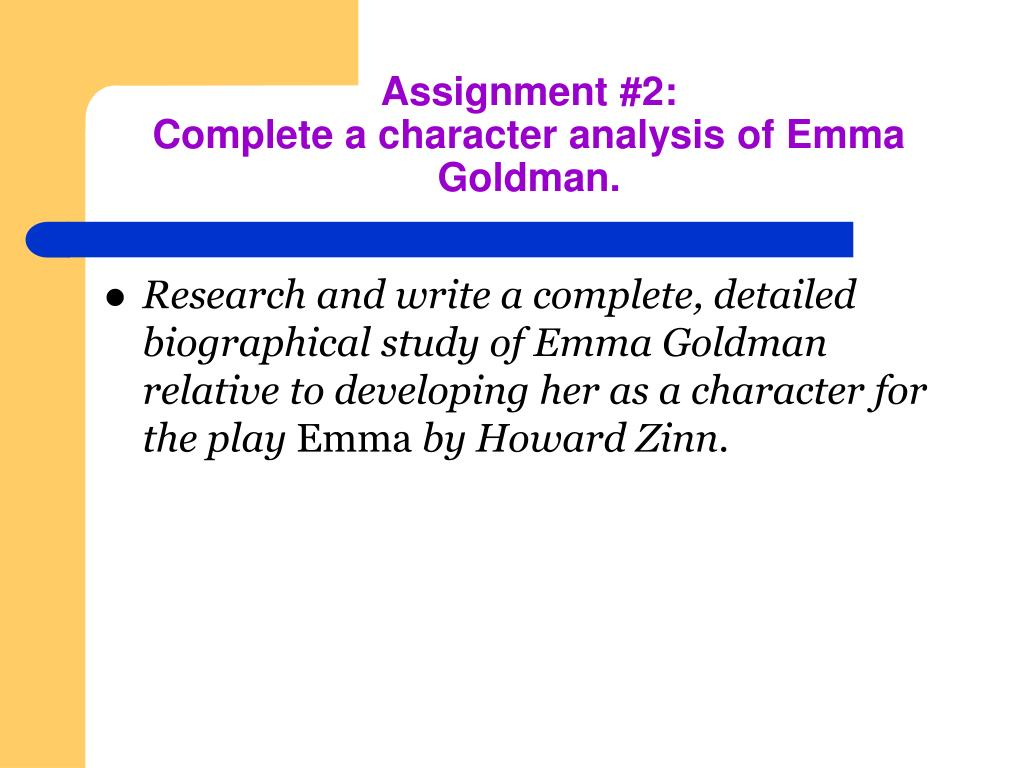 Assignment #2: