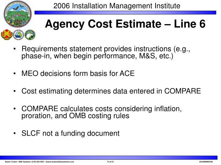 Requirements statement provides instructions (e.g., phase-in, when begin performance, M&S, etc.)