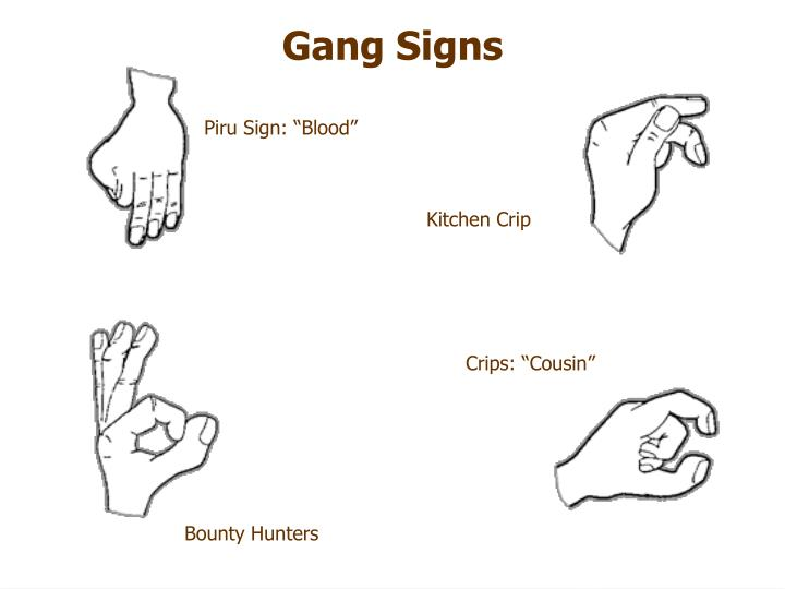 Summary -> Gang Signs Crips - stargate-rasa info