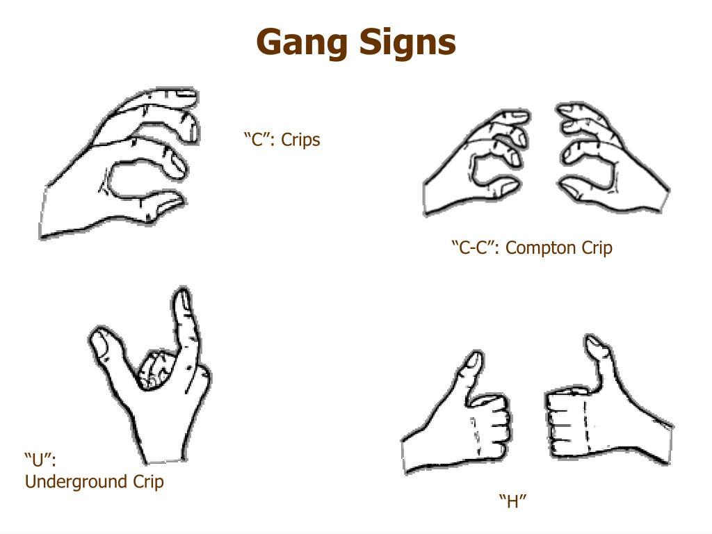 Crip Signs