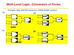 multi level logic conversion of forms5