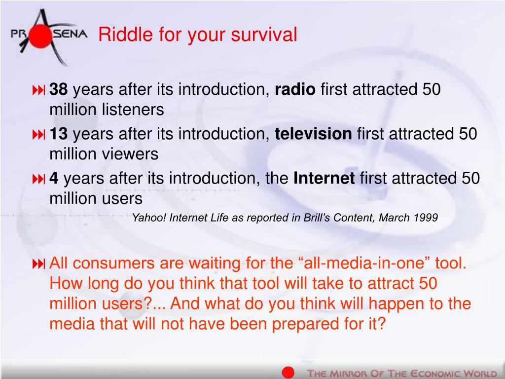 Riddle for your survival