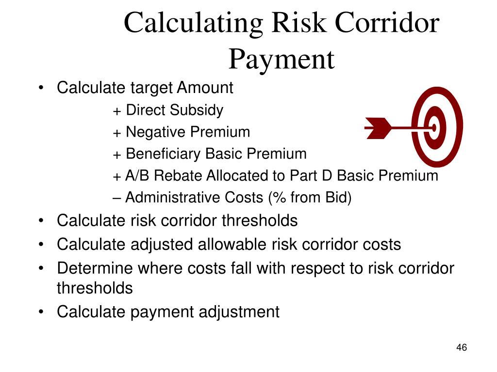 Calculating Risk Corridor Payment