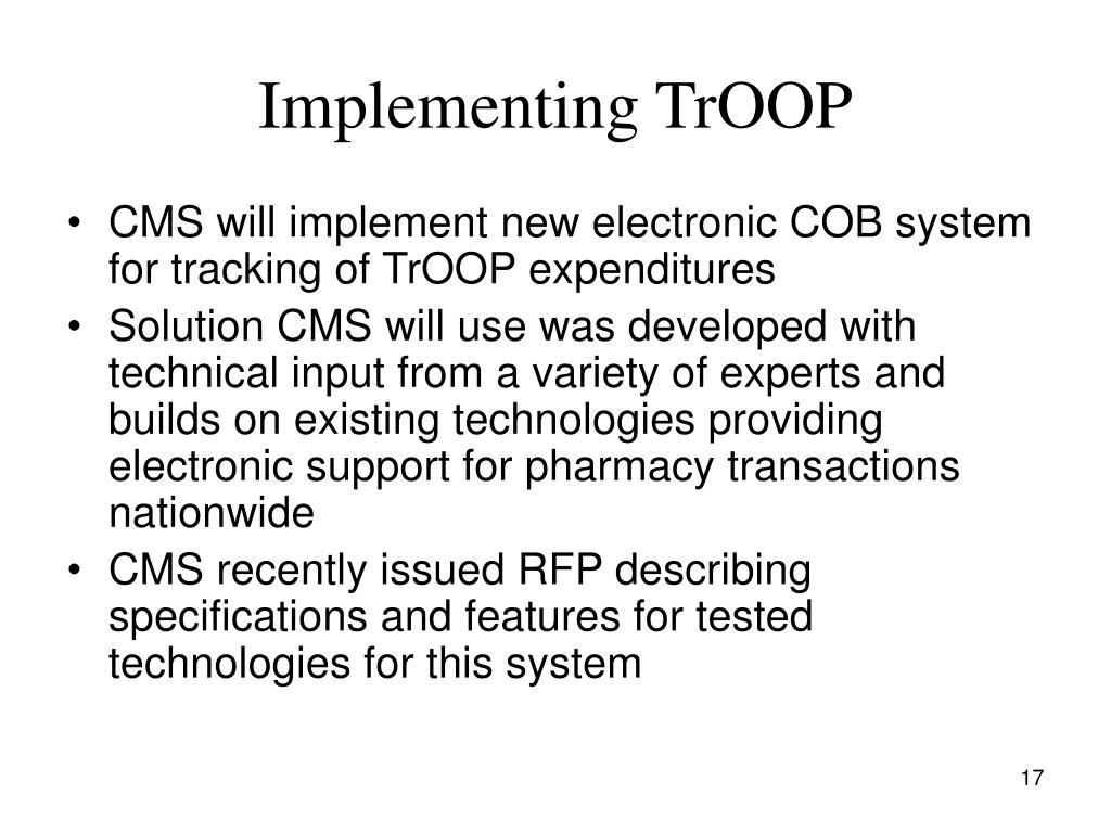 Implementing TrOOP