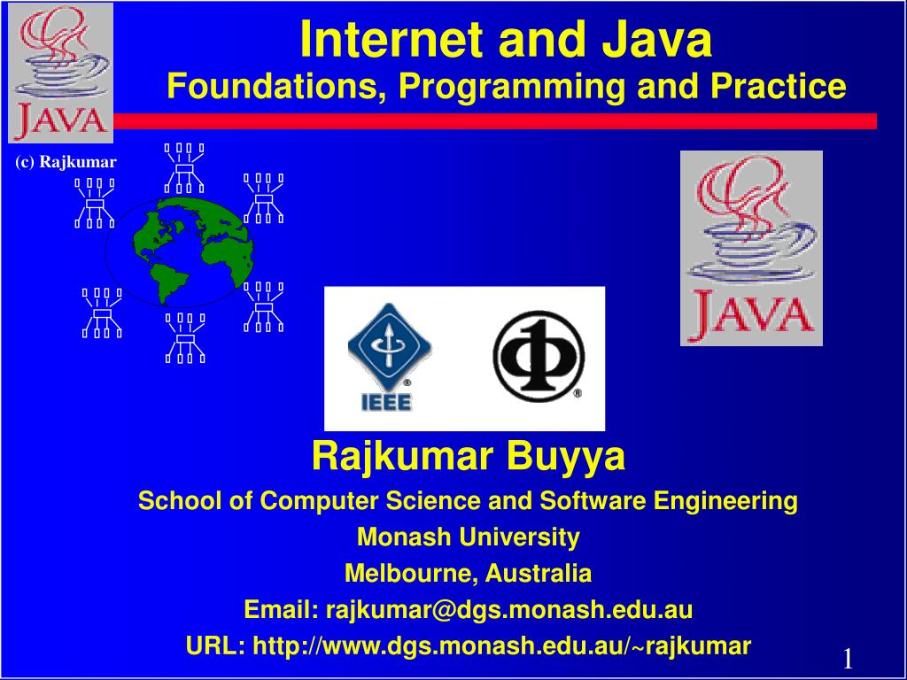 internet and java foundations programming and practice l.