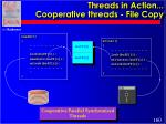 threads in action cooperative threads file copy