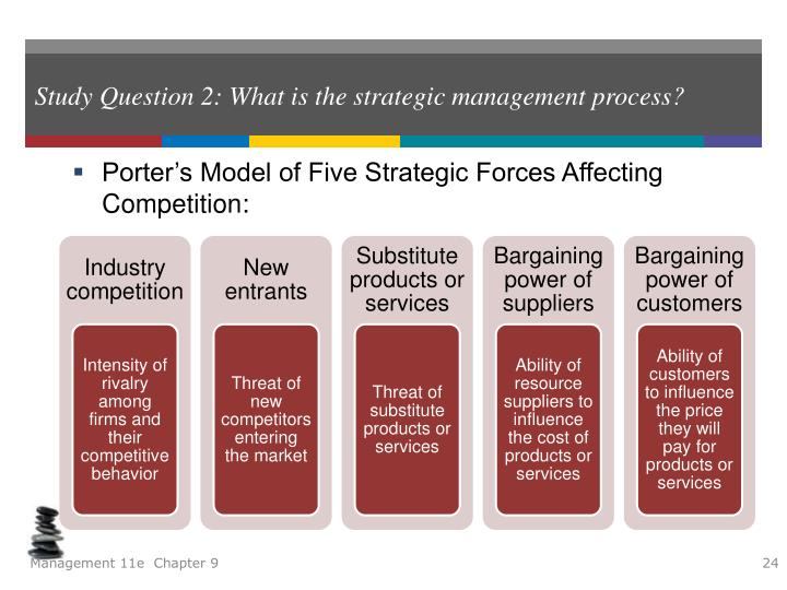 a study of the strategic management process How can the answer be improved.