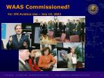 waas commissioned for ifr aviation use july 10 2003