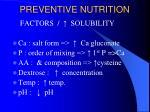preventive nutrition24