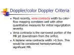 doppler color doppler criteria21
