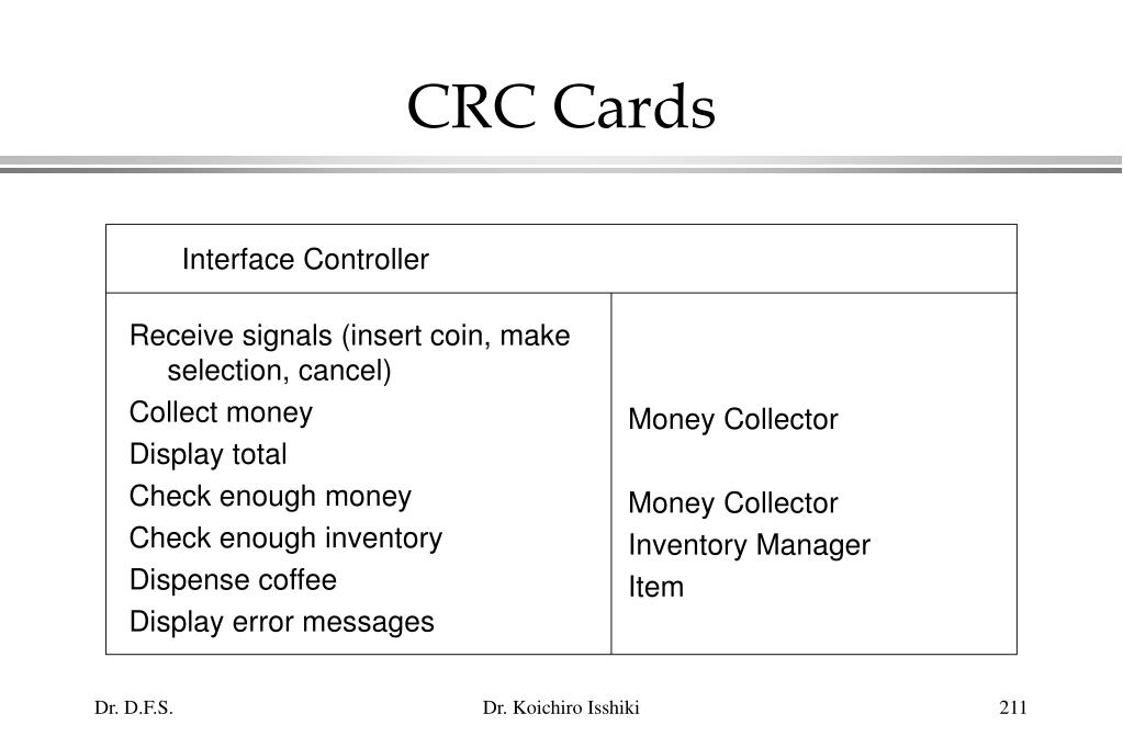 Receive signals (insert coin, make selection, cancel)