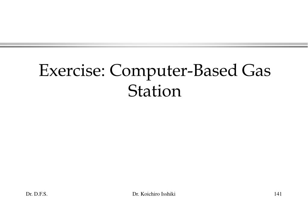 Exercise: Computer-Based Gas Station