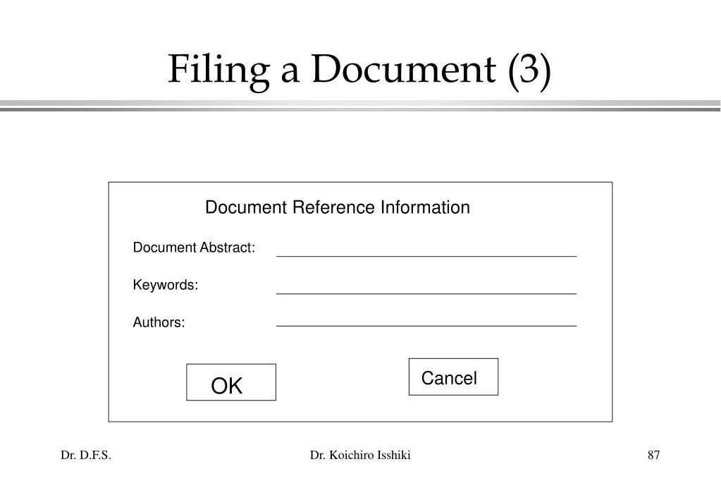 Filing a Document (3)