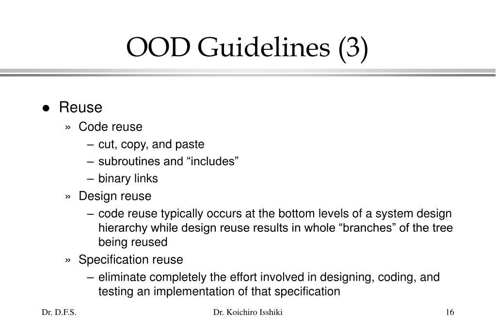 OOD Guidelines (3)