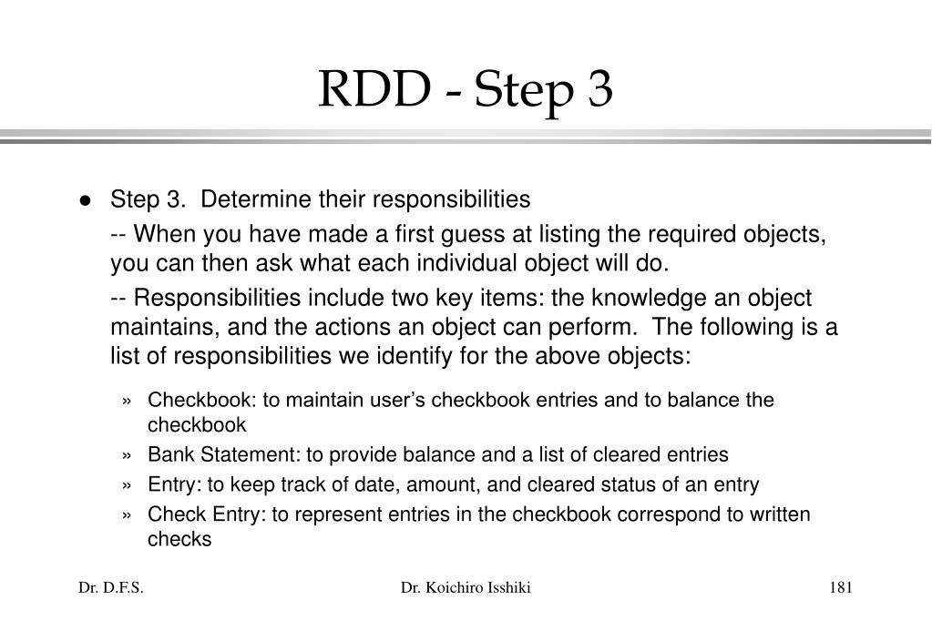 RDD - Step 3
