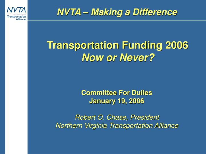 nvta making a difference n.