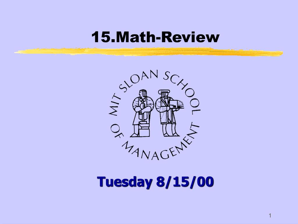 15 math review l.