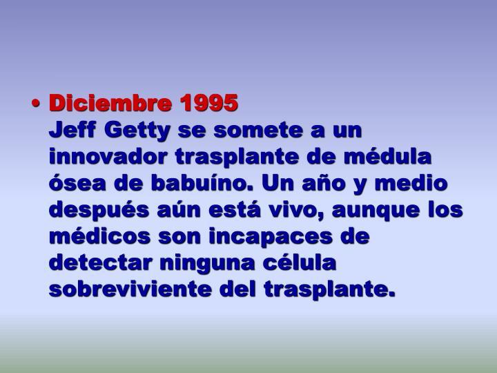 Diciembre 1995