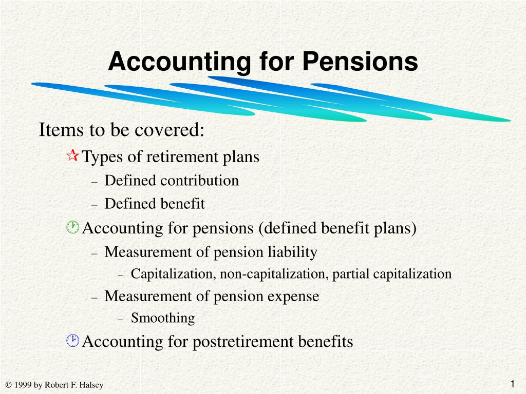 accounting for pensions l.