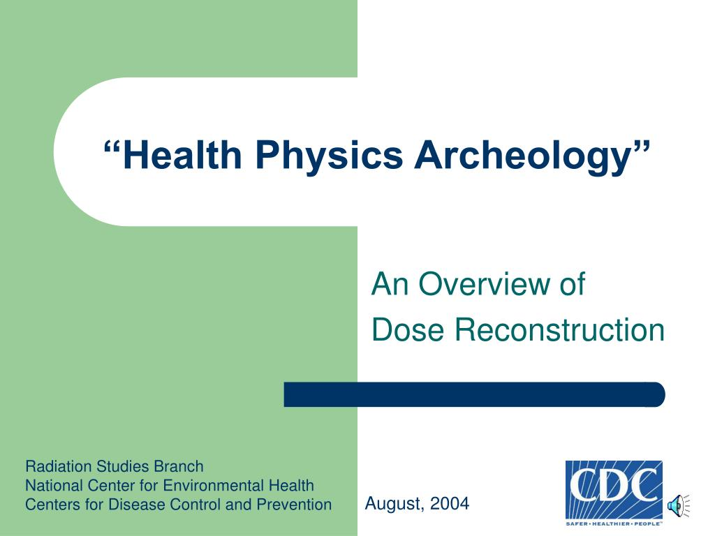 health physics archeology l.
