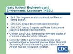 idaho national engineering and environmental laboratory ineel