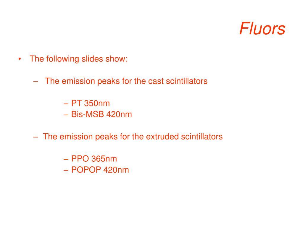 Fluors