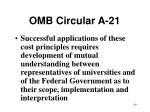 omb circular a 2140