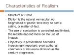 characteristics of realism1