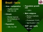 brazil facts