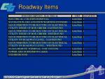 roadway items45