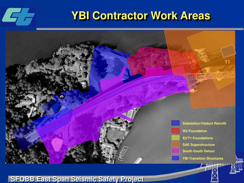 YBI Contractor Work Areas