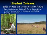 student indexes25