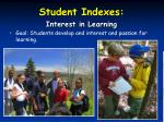 student indexes28